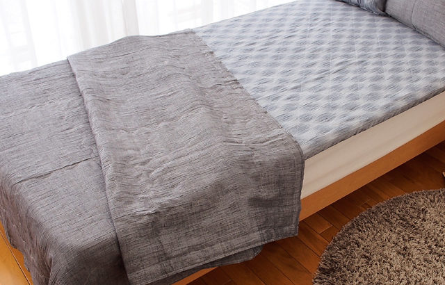 近江麻のベッドパッド、使用感もいいです